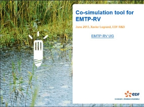 [Co-simulation]_Co-simulation tool for EMTP-RV