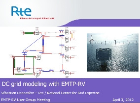 [HVDC]_DC grid modeling with EMTP-RV