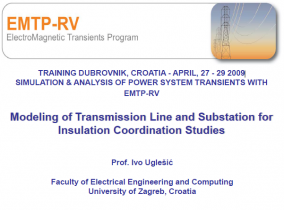 Modeling of Transmission Line and Substation for Insulation Coordination Studies