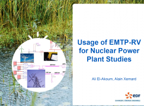 [Nuclear]_Usage of EMTP-RV for Nuclear Power Plant Studies