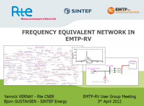 [Network_Analysis]_Frequency equivalent network in EMTP-RV