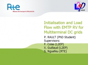 [Network_Analysis]_Initialisation and Load Flow with EMTP RV for Multiterminal D