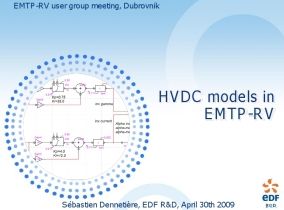 [HVDC]_HVDC models in EMTP-RV